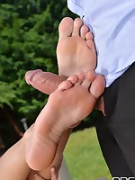 Ukrainian Leg Fetish Delight - Toe Sucking Until Climax free photos and videos on DDFNetwork.com