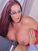 Alluring Psychologist: Her Massive Tits Make Client Cum! free photos and videos on DDFNetwork.com
