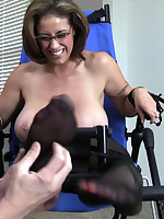 Eva Notty | evanotty.com |Eva Notty in Toe and Boob Tickling Part 3